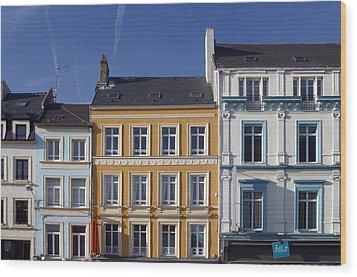 Boulogne Skies Wood Print by Jez C Self