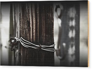 Bound  Wood Print by Mark Ross