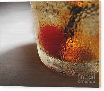 Bourbon Chill Wood Print by Mark Holbrook
