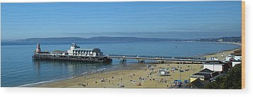 Bournemouth Pier Dorset - May 2010 Wood Print