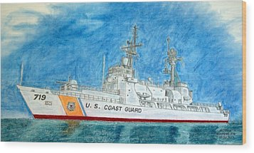 Boutwell-u.s.coast Guard 719 Wood Print