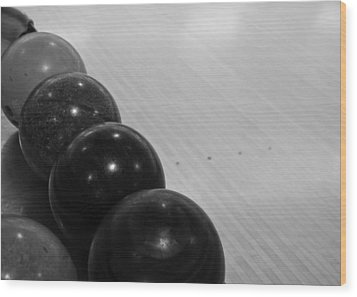Bowling Wood Print by Edward Myers