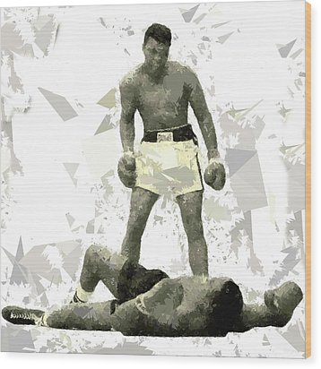 Wood Print featuring the painting Boxing 115 by Movie Poster Prints