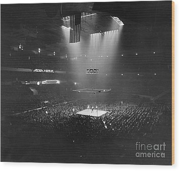 Boxing Match, 1941 Wood Print by Granger