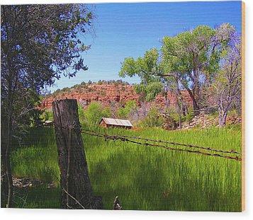 Boynton Canyon Arizona Wood Print by Jen White