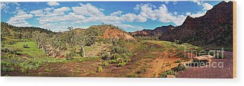 Wood Print featuring the photograph Bracchina Gorge Flinders Ranges South Australia by Bill Robinson