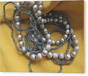 Bracelets Wood Print by Lindie Racz