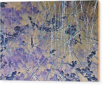 J-lintz - Brackets Wood Print