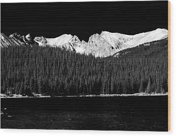 Brainard Lake - Indian Peaks Wood Print by James BO  Insogna