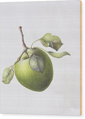Bramley Apple Wood Print