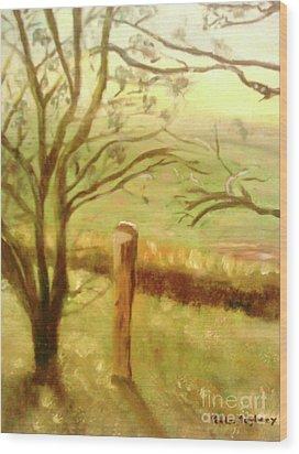 Brampton Valley Way Wood Print