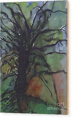 Branching Wood Print by Leila Atkinson