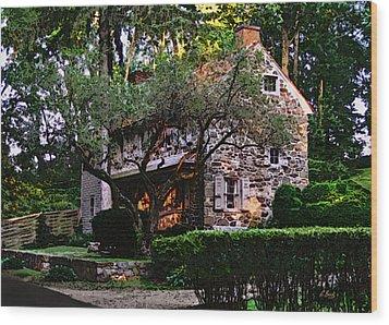 Brandywine Homestead Wood Print by Gordon Beck