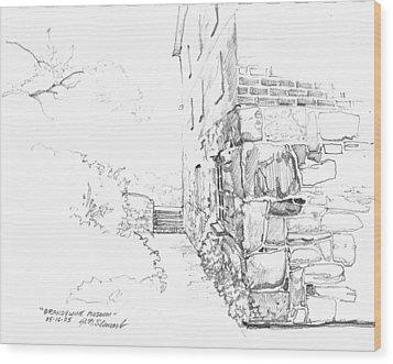 Brandywine Path Wood Print by John Norman Stewart