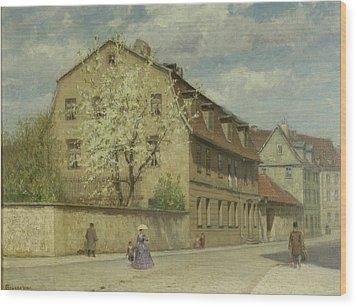 Braune Weimar Wood Print by Christoph Martin Weiland