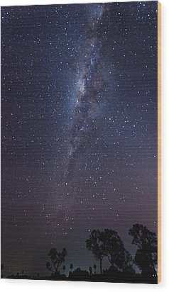 Wood Print featuring the photograph Brazil By Starlight by Alex Lapidus