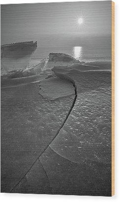 Wood Print featuring the photograph Breaking Point by Davorin Mance