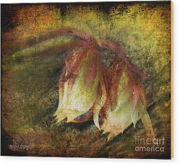 Wood Print featuring the digital art Breath Of Life by Rhonda Strickland