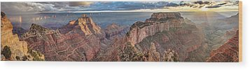 Wood Print featuring the photograph Breathtaking Cape Royal by Pierre Leclerc Photography