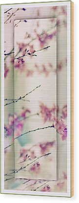 Wood Print featuring the photograph Breezy Blossom Panel by Jessica Jenney