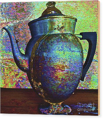 Brewing Nostalgia Wood Print by Gwyn Newcombe