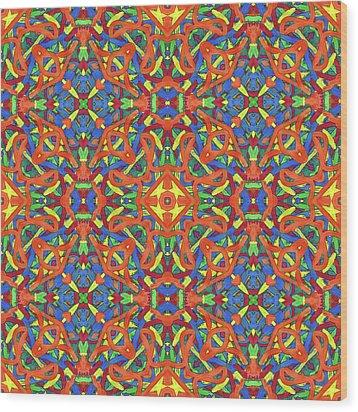 Brexit Soup -multi-pattern- Wood Print