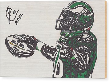 Brian Westbrook 2 Wood Print by Jeremiah Colley