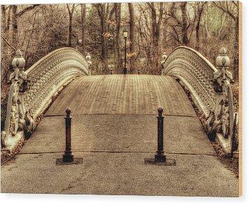 Bridge Wood Print by Ariane Moshayedi