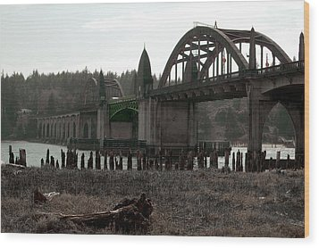 Bridge Deco Wood Print