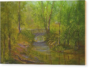 Bridge Of Delight Wood Print