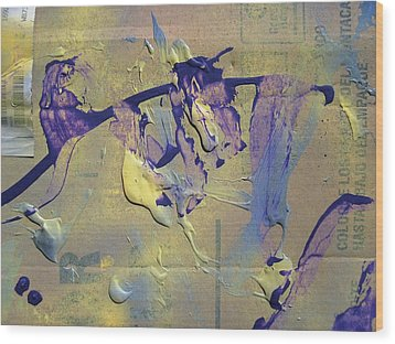 Bridge Of Old Hag Troll Wood Print by Bruce Combs - REACH BEYOND