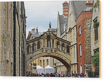 Bridge Of Sighs Wood Print