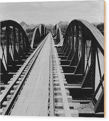 Bridge On The River Kwai Wood Print