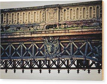 Bridge Ornaments In Germany Wood Print