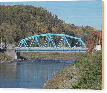 Bridge Over Rondout Creek 2 Wood Print