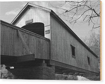 Bridge Over Troubled Water Wood Print