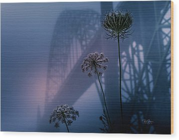 Bridge Scape Wood Print