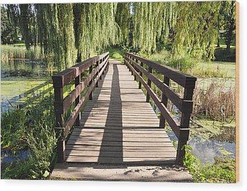 Bridge To Tranquillity Wood Print