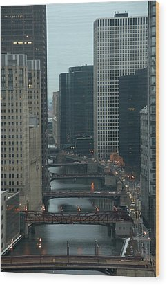 Wood Print featuring the photograph Bridges Over The River Chi by Sheryl Thomas