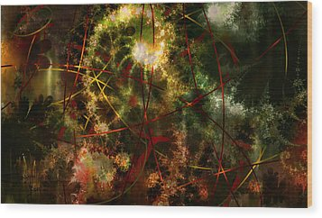 Bridges To Inner Sanctums Wood Print by Stephen Lucas