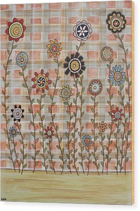 Bright Spring Wood Print by Rain Ririn