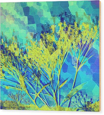 Brighter Day Wood Print by Shawna Rowe