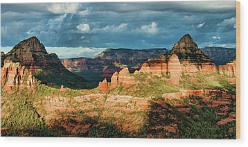 Brins Ridge 04-044pan N Wood Print