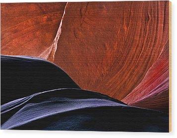 Broken Dial Wood Print by Mike  Dawson