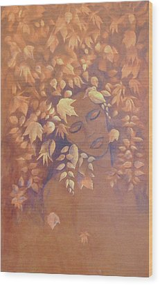 Bronze Beauty Wood Print