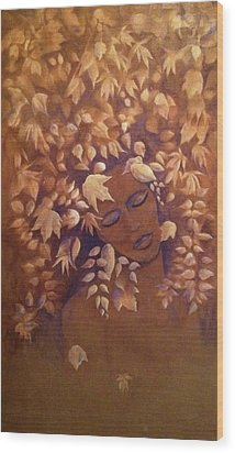 Bronze Beauty Wood Print by T Fry-Green