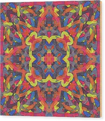 Bronze Soup -pattern- Wood Print