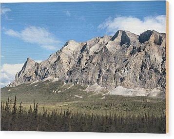 Wood Print featuring the photograph Brooks Range Mountain by Adam Owen