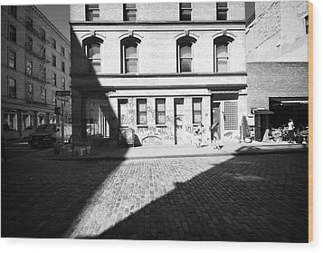 Wood Print featuring the photograph Broome Street Nyc by Dave Beckerman
