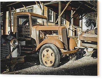 Vintage 1935 Chevrolet Wood Print